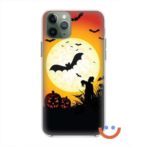калъф за телефон за хeлоуин scarecrow moon