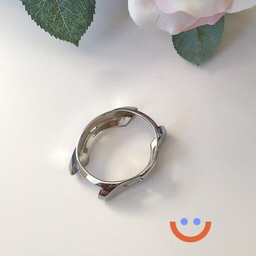 протектор за смарт часовник Samsung Galaxy Watch 3 сребрист ед