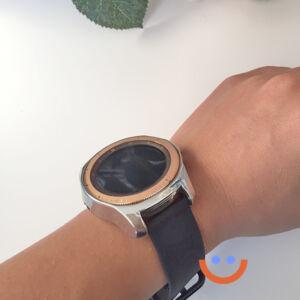 протектор за смарт часовник Samsung Galaxy Watch 3 сребро