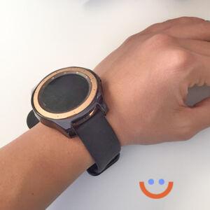 протектор за смарт часовник Samsung Galaxy Watch 3 черен