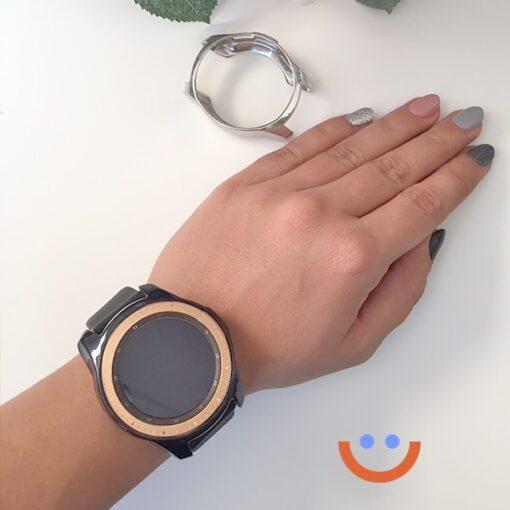 протектор за смарт часовник Samsung Galaxy Watch 3 41mm черен