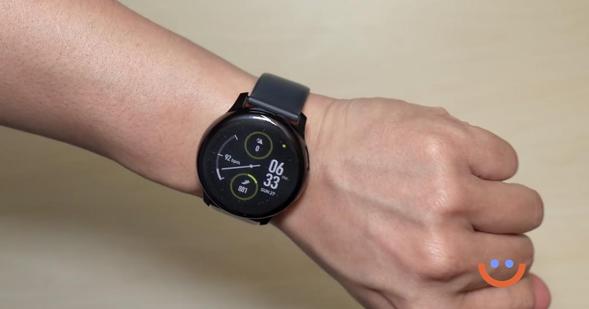 смарт часовник Samsung Galaxy Watch Active 2 40mm черен