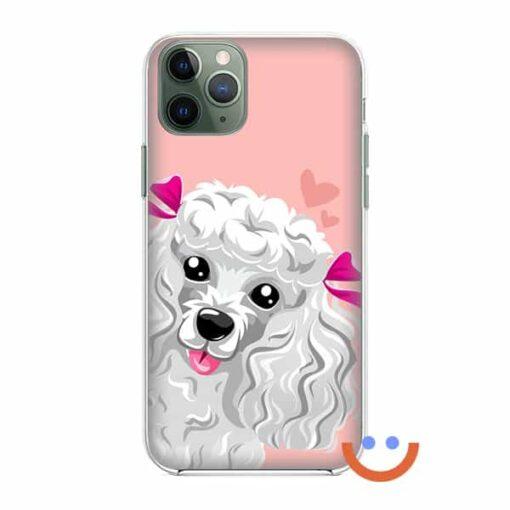 калъф за телефон cute curly puppy
