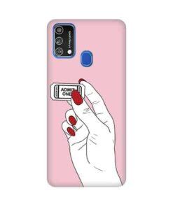 кейс с име за Samsung Galaxy M21s