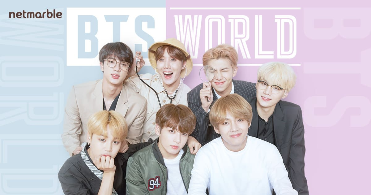 BTS World мобилна игра ucreate