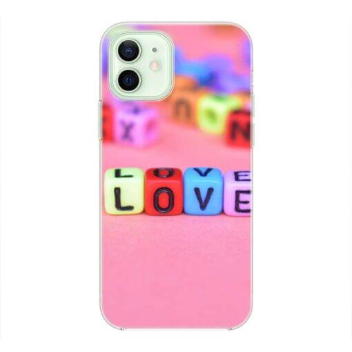 Калъф със снимка Love Cubes