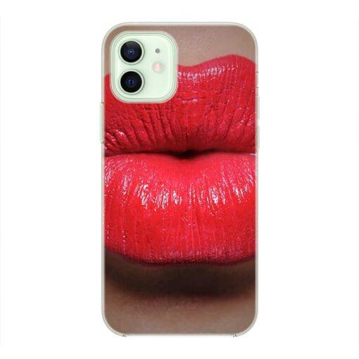 Силиконов кейс за телефон Kiss me