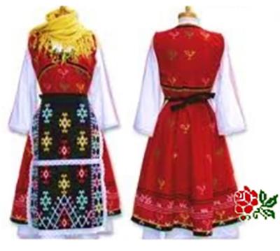 български шевици добруджанска носия