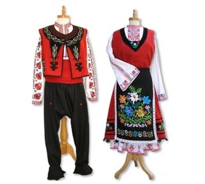 български шевици тракийска носия