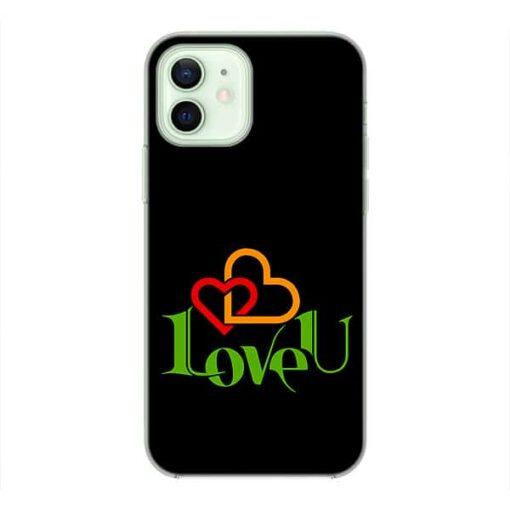 кейс със снимка Love U