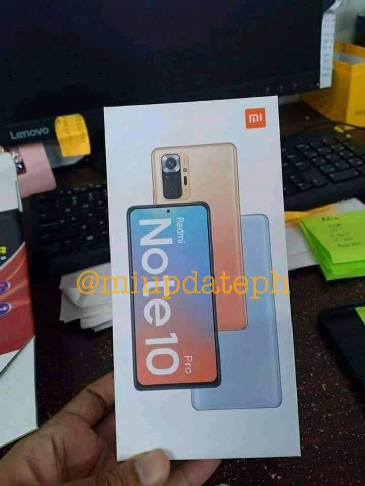 силиконов калъф за телефон със снимка Redmi Note 10 Pro