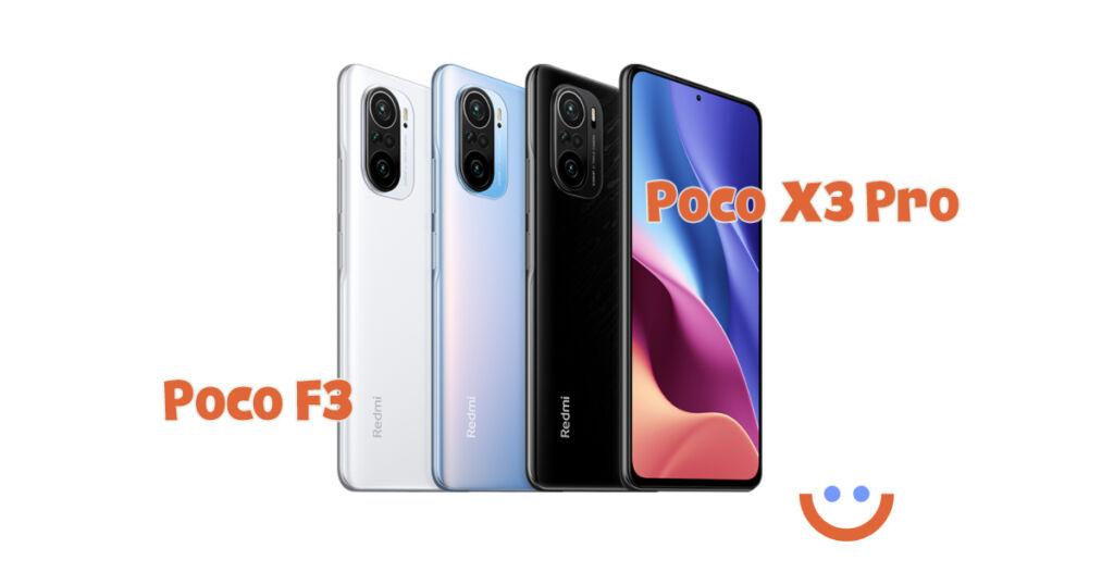 POCO F3 и X3 Pro ще стартират този месец