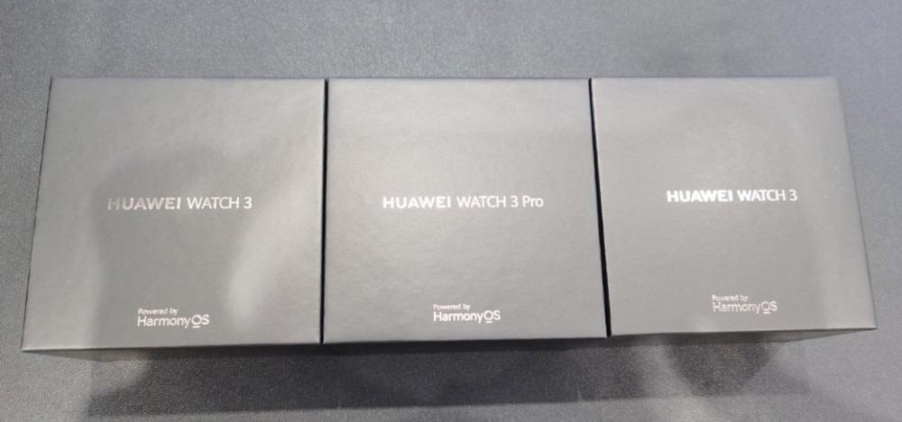Huawei Watch 3 и Huawei Watch 3 Pro