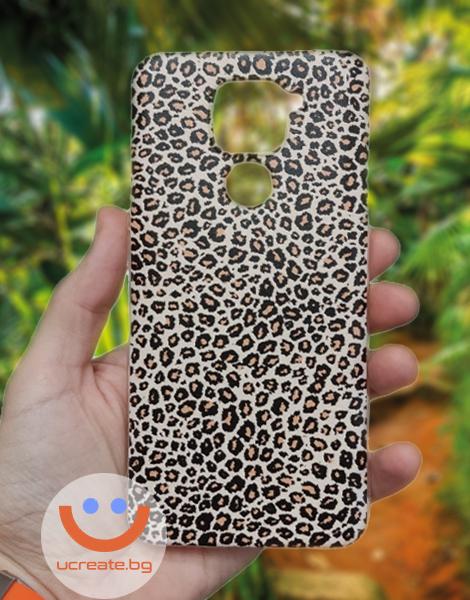 калъфка за леопардова шарка за redmi note 9